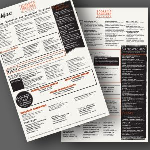 Bogart's American Kitchen menu