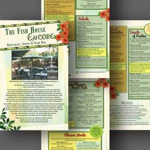 Encore menu