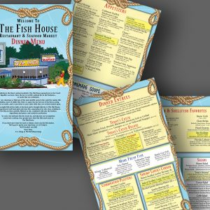 The Fish House menu