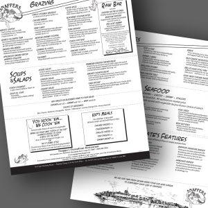 Snappers menu