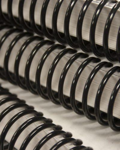 closeup-of-black-coil-binding